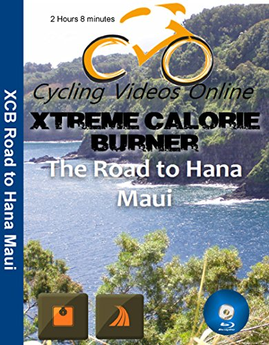 Extreme Calorie Burner the Road Hana Maui. Virtual Indoor Cycling Training / Spinning Fitness and Weight Loss Videos [Blu-ray]