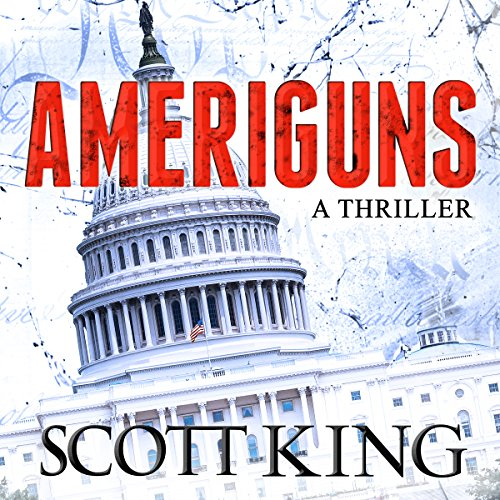 Ameriguns audiobook cover art