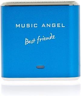 Music Angel Mini Best Friendz Speaker for iPhone/iPad/iPod/MP3 Players/PC/MAC - Blue