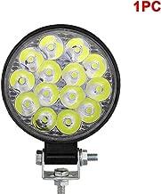luz amarilla YGL 20W Motocicleta Faros Antiniebla ,Faro Led Luz de Trabajo LED
