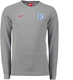 2018-2019 England Authentic Modern Crew Sweater (Grey)