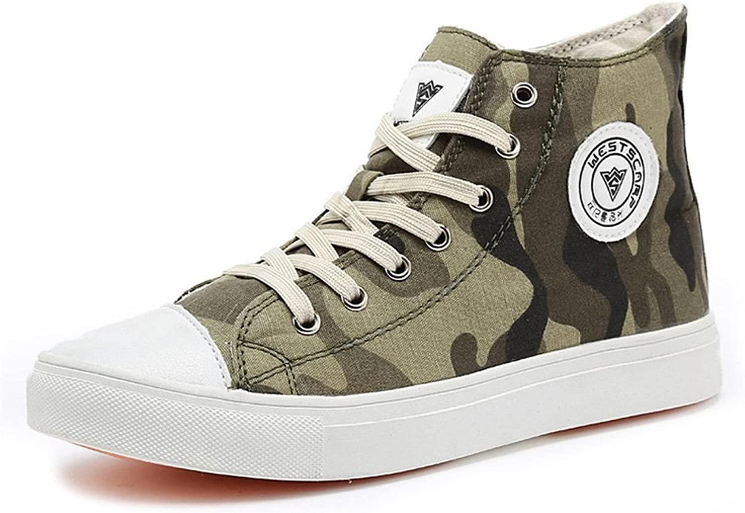 Male and female shoes, shoes, green canvas shoes, couple flatbed casual canvas shoes,b,41