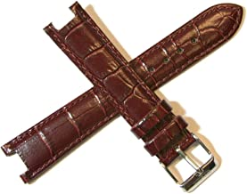 Lucien Piccard Dufonte 18MM Alligator Grain Real Leather Watch Strap 8