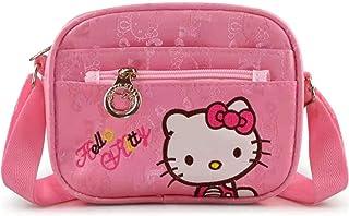 Hello Kitty Bag, Hello Kitty Purse for Girls-Pink KT Cat Crossbody Bag, Hello Kitty Mini Pink Small Shoulder Handbag for Toddler, Mini Travel Bag for Kid Girls, Kids Girls Cat Purse for Toddler Kids