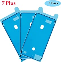 Ogodeal Screen Adhesive Pre-Cut Waterproof Seal Strips Stickers Replacement Compatible for iPhone 7 Plus, Water Liquid Damage Repair Adhesive Glue Replacement (iPhone 7 Plus Black)