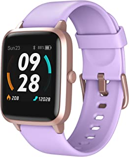 LETSCOM Smart Watch, GPS Running Watch Fitness Tracker with Heart Rate Monitor Step Counter Sleep Monitor, IP68 Waterproof...
