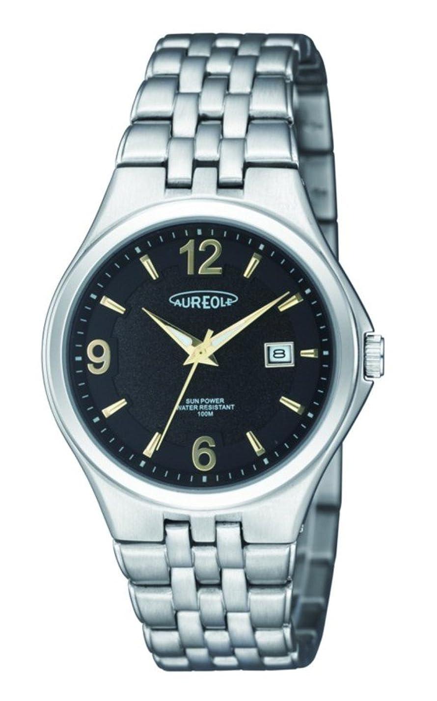 平衡幅南アメリカオレオール(Aureole) 腕時計 シルバー 個装サイズ:10×12×8cm