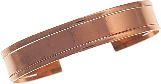 Koperen armband drievoudig elegant armband koper natuur zonder magneten armband