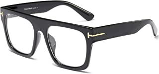 Allt Unisex Large Square Optical Eyewear Non-prescription...