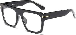 Unisex Large Square Optical Eyewear Non-prescription...
