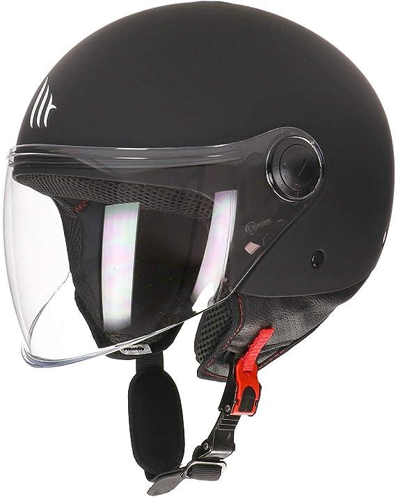 Mt Helmets Unisex 110500033 Motorradhelm Matt Black Xs Auto
