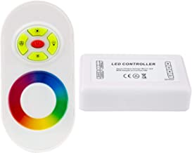 LEDKIA LIGHTING 12/24V RGB LED touch controller + RF afstandsbediening met dimmer