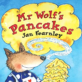Couverture de Mr Wolf's Pancakes