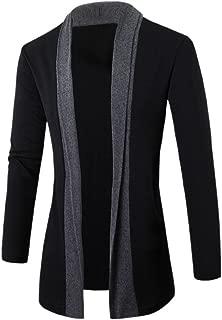 Stylish Men Cardigan Jacket Slim Long Sleeve Casual Coat Outwear