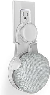 Oittm Google Home Mini 専用壁掛けホルダー カバー 設置簡単 ネジ止め不要 充電しながら使用可能 グーグルホームミニ 壁掛けマウント アクセサリー (ホワイト)