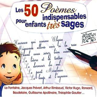Couverture de Les 50 Poèmes indispensables pour enfants très sages