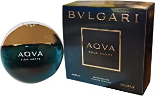 Bvlgari Aqva Eau de Toilette Spray for Men, 5 Ounce