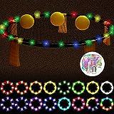 YTTde Luci A LED Luci A Stringa A Batteria16ft Fairy Light 8 Colori Che Cambiano Light Family Outdoor Cornhole Giochi da Cortile Decorazioni per Alberi di Natale