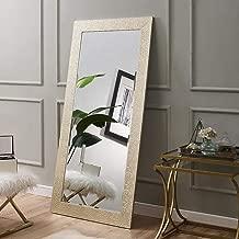 Naomi Home Mosaic Style Full Length Floor Mirror Gold