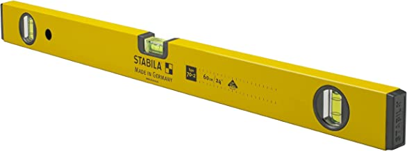 Stabila 22924 24-Inch 70-2 Homeowner Series Traditional Spirit Level