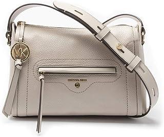 Michael Kors Leather Womens Cross Body Bag Natural