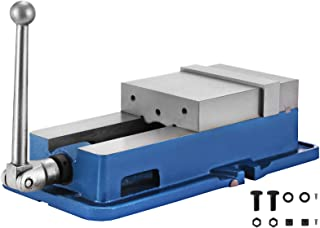 Happybuy 6 Inch ACCU Lock Down Vise Precision Milling Vice 6 Inch Jaw Width Drill Press..