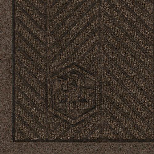 M+A Matting 2241 Waterhog Fashion ECO Elite PET Polyester Entrance Indoor Floor Mat, SBR Rubber Backing, 3' Length x 2' Width, 3/8