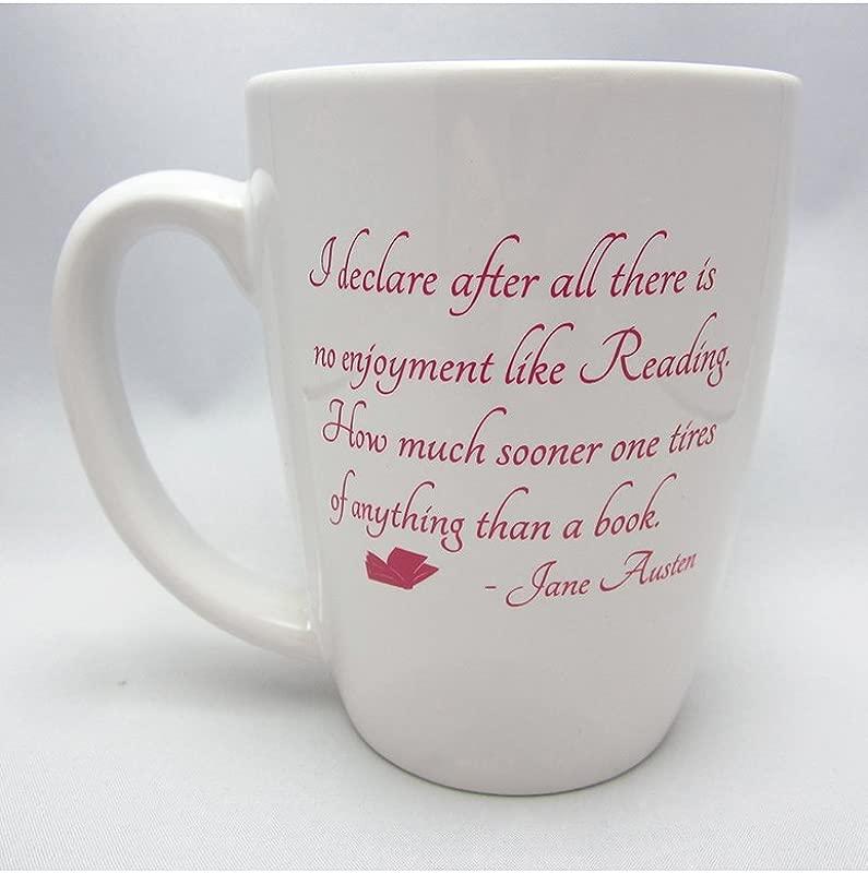 Jane Austen Reading Quote Mug