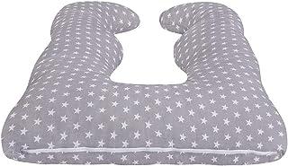 Idéal pour les adultes et bébé pour dormir Couleur: Blue Stripes 200x 39cm se détendre et lAllaitement lulando bomerang Coussin Coussin dallaitement Coussin maternité