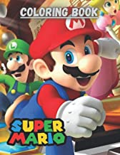 Coloring book Super Mario: Mario and Luigi coloring pages for boys and girls gifts 2020 2021