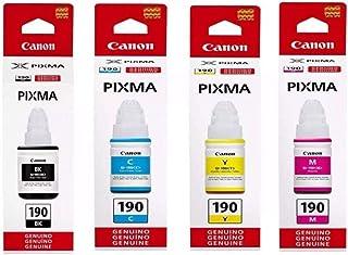 Refil de Tinta Canon Gi-190 P/ G1100 G2100 G3100 e G3102 7.000 Pags