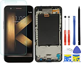 iFixmate LCD Screen Replacement Touch digitizer with H Flex and Frame Pre Assembled for LG K20 Plus T-Mobile TP260 MP260 K...