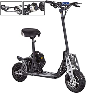 Rugged Gas Scooter Folding Evo 2X Big 50cc Powerboard EPA Pocket Scooters for Adult (Not CA Compliant)