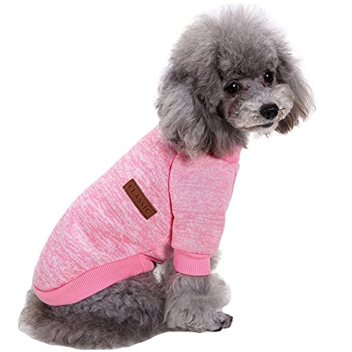 69272d8602b CHBORLESS Pet Dog Classic Knitwear Sweater Warm Winter Puppy Pet Coat Soft Sweater  Clothing for Small