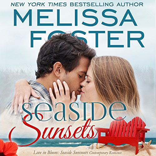 Seaside Sunsets audiobook cover art