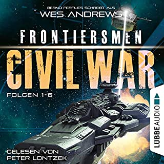 Frontiersmen. Civil War - Sammelband, Folgen 1-6 Titelbild