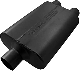 Flowmaster 9425422 40 Delta Flow Muffler - 2.50 Center IN / 2.25 Dual OUT - Aggressive Sound