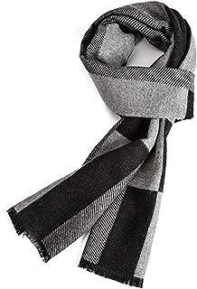 comprar comparacion VICSPORT Bufanda Cálida de Otoño e Invierno, Bufandas Para Hombre de Estilo Clásico y Elegante