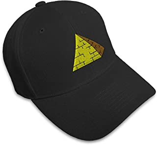 Custom Baseball Cap Pyramid Embroidery Dad Hats for Men & Women Strap Closure
