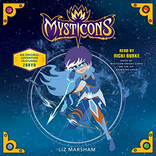 Mysticons: The Stolen Magic audiobook cover art