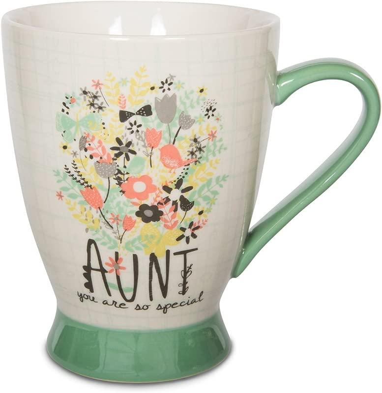 Pavilion Gift Company 74040 Aunt Ceramic Mug 16 Oz Multicolored