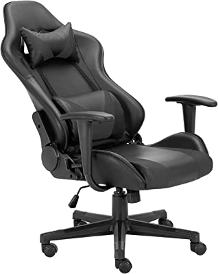 Amazon Com Cyrola Gaming Chair For Adults Pc Racing Gamer