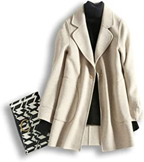 Perfectme Outerwear Women Autumn & Winter Cashmere Jacket Coat Female Wool Blend Trench Overcoat Camel