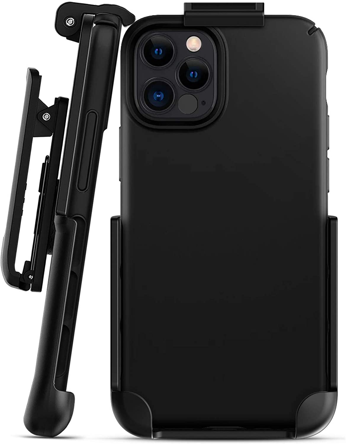 Encased Belt Clip for Caseology Dual Grip Compatible with iPhone 12 & iPhone 12 Pro (Holster Only - Case is not Included)