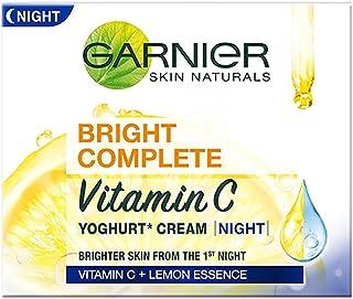 Garnier Bright Complete VITAMIN C YOGHURT Night Cream, 18g
