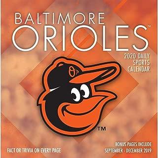 Baltimore Orioles 2020 Calendar