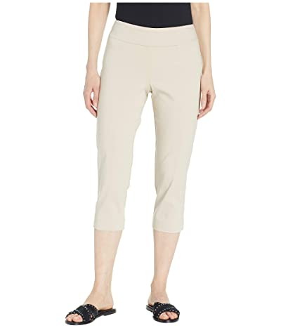 Krazy Larry Pull-On Capri Pants (Stone) Women