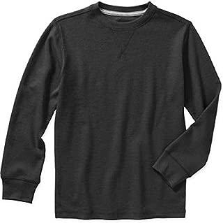 Boys' Long Sleeve Waffle Thermal Crew Shirt/Top
