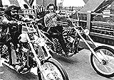 Easy Rider/Bridge Bikes On Bridge Poster Drucken (91,44 x