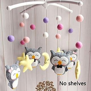 Cloche réglable pour lit de bébé à monter soi-même, jouet décoratif, bras à suspendre, support de support de lit de bébé, ...